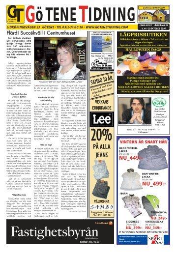Vecka 44 - Götene Tidning