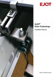 EJOT® Solar Fastenings - Tier-1 Products Inc.