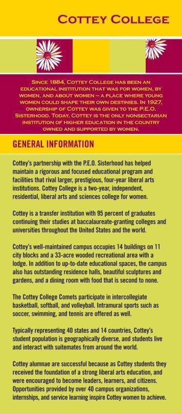 Cottey College - PEO International