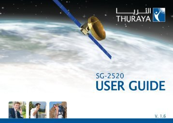 Thuraya SG-2520 user guide