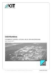 CAD-Richtlinie HLKS, November 2011 - KIT - TID