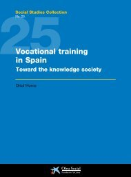 25 Social Studies Collection: Vocational training in Spain