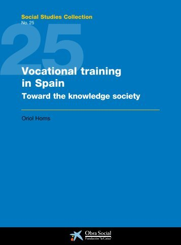 Proposal For A Vocational Training Model For Israel Executive Summary