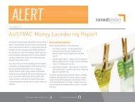AUSTRAC Money Laundering Report