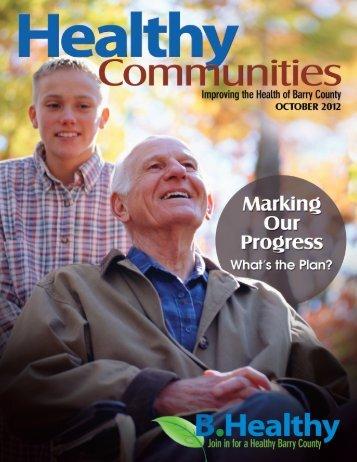 Healthy Communities Magazine - Pennock Health Services