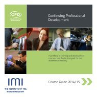 CPD Course Guide 2013/14-pdf(6.17MB) - The Institute of the Motor ...