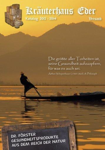 Download Katalog im PDF-Format (4,3 MB - Kräuterhaus Eder