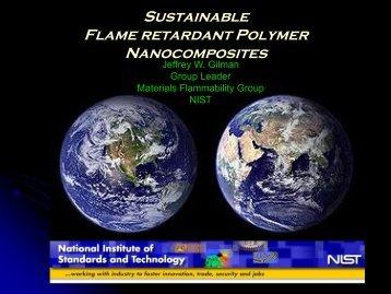 Sustainable Flame Retardant Polymer Nanocomposites