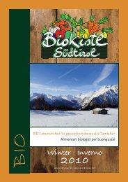 Winter - Inverno - Bio Kistl Südtirol