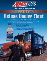G2695 - Field Study: Refuse Hauler Fleet - OilTek Solutions