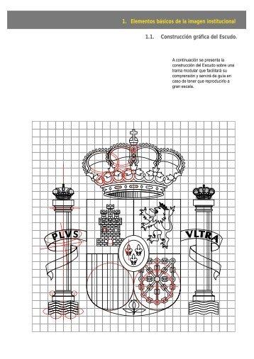 Elementos básicos de la imagen institucional puntos 1.1 a 1.11