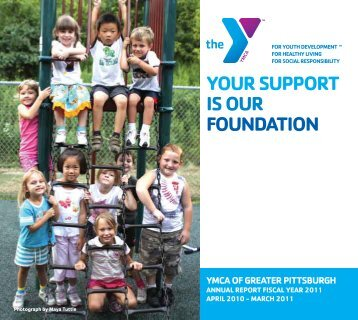 Download the Annual Report - YMCA of Greater Pittsburgh