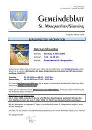 Information zur Landtagswahl (0 bytes) - Gemeinde St. Margarethen ...