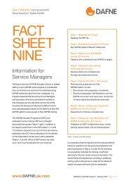 FACT SHEET NINE - Dafne - UK.COM