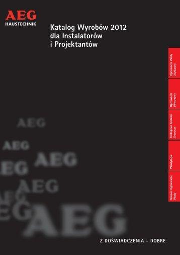 Katalog Wyrobów 2012 dla Instalatorów i ... - Interex Katowice