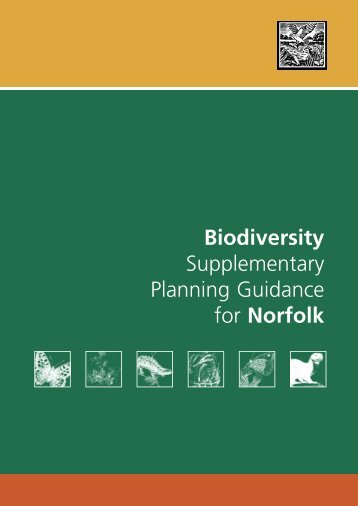 Biodiversity Supplementary Planning Guidance - South Norfolk ...