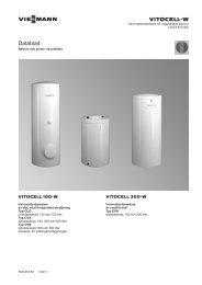 Vitocell 100-W Datablad667 KB