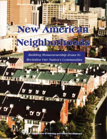 New American Neighborhoods - Global Urban Development