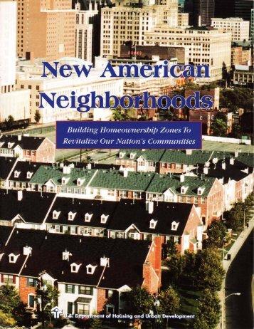 New American Neighborhoods - Global Urban Development