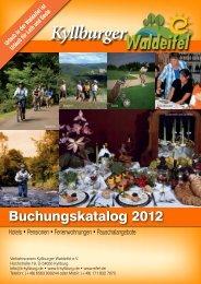 Buchungskatalog 2012 - Tourist-Info Kyllburger Waldeifel