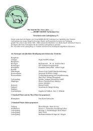 Liste der Sponsoren - Tierschutzverein Ludwigsburg