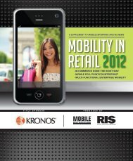 A SuPPleMent To Mobile EnterPriSe AnD RiS NeWS MOBILITY IN