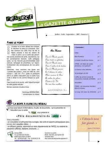 Gazette n°5