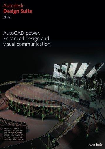 Autodesk Design Suite 2012 brochure