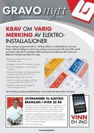 Elektro DM 2011 - Gravograph Norge AS
