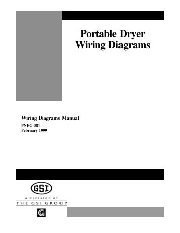 pneg 1181 network portable dryers grain systems inc rh yumpu com 4 Prong Dryer Wiring Diagram Dryer Plug Wiring Diagram