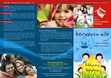 koruyucu aile brosuru - Aile ve Sosyal Politikalar Bakanlığı Samsun ...