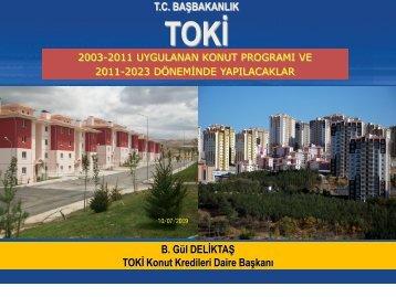 Türkiye'nin Konut İhtiyacı ve TOKİ - ICA Housing