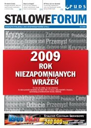 BY¸ TO ROK - Polska Unia Dystrybutorów Stali