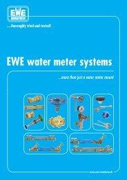 EWE water meter systems