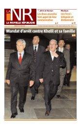 Edition n°4709 - La Nouvelle République