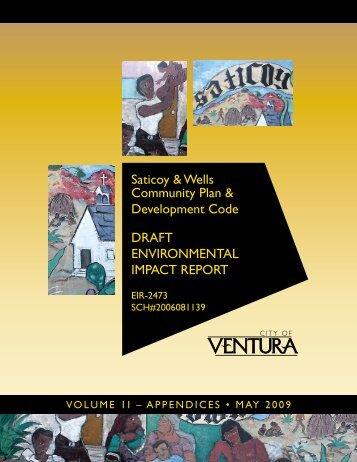 Saticoy & Wells Community Plan & Development ... - City Of Ventura