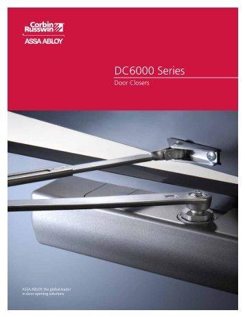 DC6000 Series - Corbin Russwin