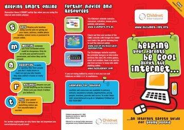 Childnet leaflet for pupils