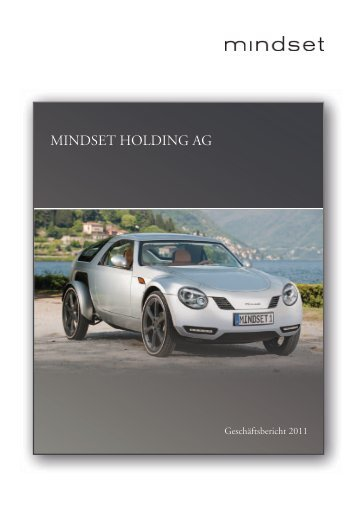 Mindset Holding AG Jahresbericht 2011