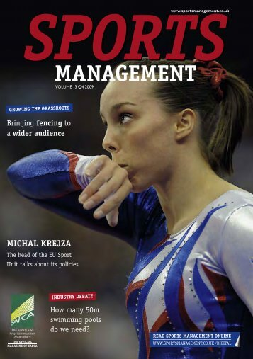 Sports Management Issue 4 2009 - Leisure Opportunities