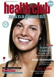 Health Club Management October 2010 - Leisure Opportunities