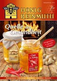 Quelle der Gesundheit Honigprodukte in geprüfter ... - Honig Reinmuth