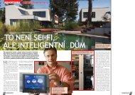 To není sci-fi, ale inteligentní dům - Insight Home