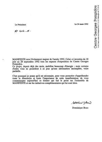 Manifeste - Centre Pompidou