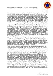 Artikel für Magazin 2000plus a - Tieren und Menschen helfen