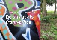 Jongeren Interventie Team Schiedam - De Straat als Front-office