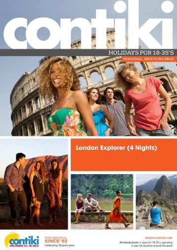 London Explorer (4 Nights) - Ik Chin Travel Service
