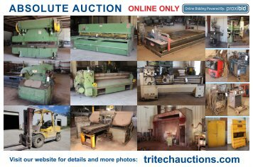 Fabrication Equipment, North Vernon IN, May 15, 2012