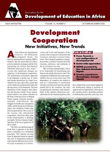 Development Cooperation - ADEA