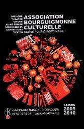 1oème festival à pas contés - Association Bourguignonne Culturelle